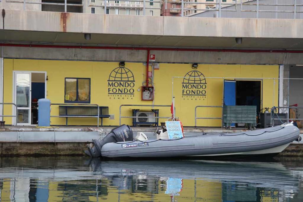 Diving Mondo Fondo, Genova
